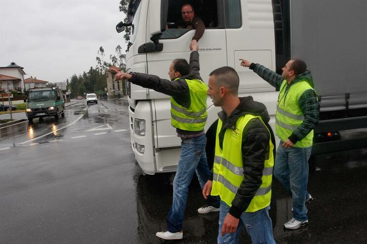 Los camioneros portugueses amenazan con huelga por incumplimiento del contrato colectivo de trabajo
