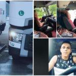 Desvelamos quién es el joven chófer rumano que maneja con sus piernas un camión en Italia