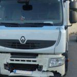 Detenido un camionero drogado que causó seis accidentes con un herido grave