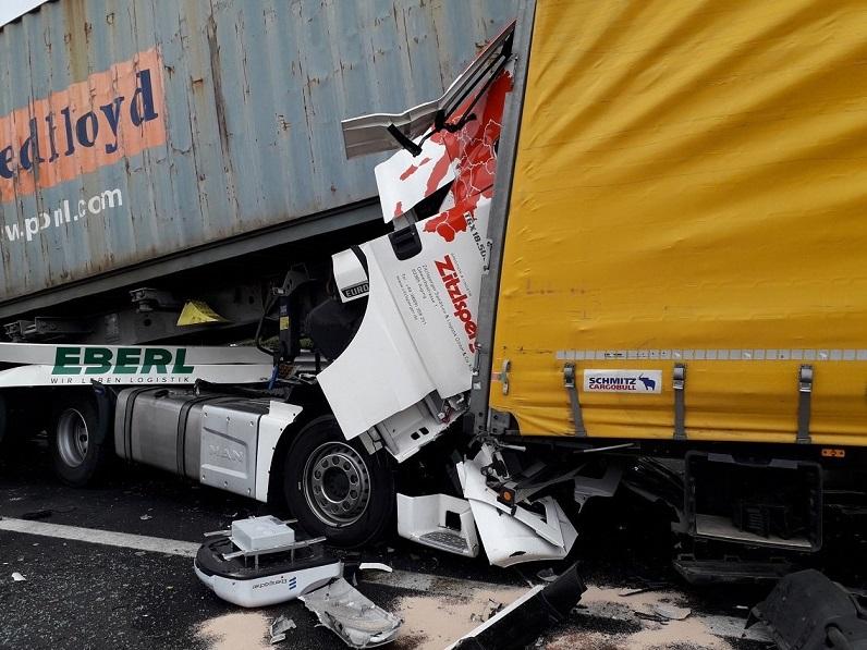 incidente in A4 Villesse Palmanova 1