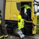 """Un camionero de 61 años muere al perder el control """"Otros trabajos tienen una jubilación a los 55 y en este sector no"""""""