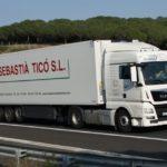 Transportes Sebastia Tico, necesita dos conductores con ADR básico, para transporte internacional