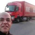 Un infarto a los 42 años se lleva la ilusión de haber cumplido el sueño de ser camionero