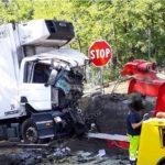 Fallece un camionero de 47 años, al impactar contra el muro de contención de la SP 240 Italia
