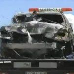 El coche de Reyes iba a 237 km/hora cuando reventó una rueda