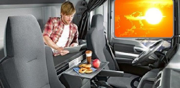 descanso en cabina de camion e1434122069992