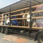 Cinco conductores rumanos en prisión en Alemania. Red de repuestos para camiones robados.