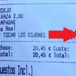 Un Bar cobra 10 euros a un cliente «por tocar los cojones»