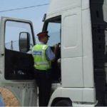 Detenido un camionero que tocaba el claxon para que se apartaran otros camiones, multiplicando por siete la alcoholemia en la AP7