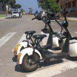 1.000 € de multa por dos patinetes sin placas en Playa de Aro
