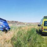 Fallece un camionero de 55 años al volcar su camión en Alera
