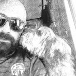 La bonita historia de un camionero que se reencontró con su mascota que había perdido en Francia