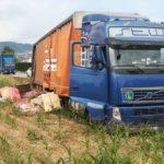 Sufre un infarto al volante y sobrevive un camionero de 41 años al poco tiempo de cargar