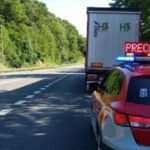 Detienen a un camionero que paró a dormir en el carril de vehículos lentos quintuplicando la tasa de alcohol permitida