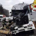 173 camioneros y 15 camioneras murieron al volante en Italia el año pasado