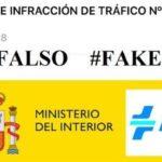 La DGT avisa de una falsa multa de 1.530 euros una estafa