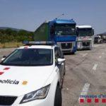 Pillan tres camioneros en dos horas conduciendo borrachos en la Jonquera