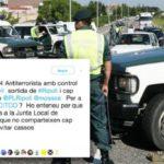 El alcalde de Ripoll delata a la Guardia Civil y difunde la ubicación de un control antiterrorista