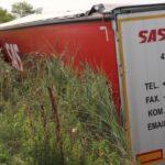 El sueño al filo de la tragedia: un camionero tocado por el sueño acaba su viaje en el hospital