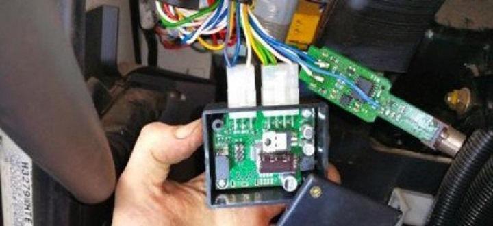 La Guardia Civil, detiene en Fompedraza a un camionero con el tacógrafo manipulado con un mando a distancia