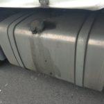 Los ladrones dejan sin combustible a dos camiones en San Cibrao