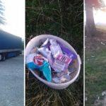 Un camionero da una lección de civismo y compromiso con el medio ambiente recogiendo la basura de otros en su tiempo libre