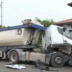 Fallece un camionero de 45 años al enfermar al volante y chocar violentamente contra otro camión en Rivis di Sedegliano
