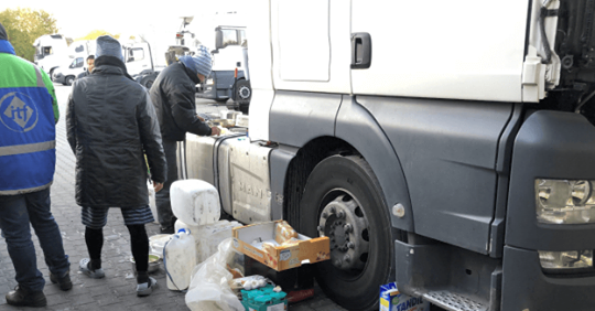 Una empresa polaca, explota como esclavos a camioneros filipinos sin pagarles