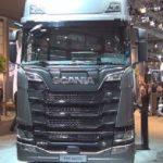 Presentación de la imponente Tractora Scania S 650 A4x2 2019
