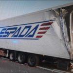 Atropello mortal de un camionero  almeriense de 45 años, de Transportes la Espada en la AP-7