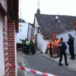 Un conductor español atasca el camión en un estrecho callejón prohibido en Francia