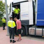 Detenido un camionero en Lorca por superar en más de diez veces la tasa de alcohol