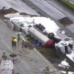 El camionero y su compañera habían conducido durante más de 40 horas sin ningún descanso diario.