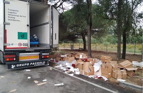 El robo de la vergüenza: Desvalijan camiones enteros Gasóleo y Cabinas en un Parking de la AP7