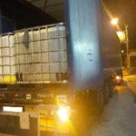 Detienen a dos camioneros polacos que transportaban 26.000 litros de diésel de contrabando