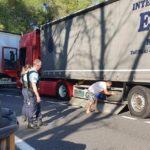 Un camión de Italia a Nimes, tras dos rumanos que habían robado diésel y dos ruedas de recambio