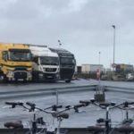 Un pueblo ofrece bicicletas gratis a los camioneros de un aparcamiento de 420  plazas en Francia