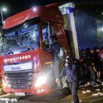 Empresas de transporte y conductores sufren las incidencias de la huelga