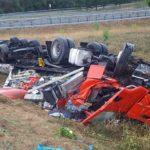 Miércoles negro: mueren tres camioneros en dos colisiones en la A-4 Montoro y A-6 Begonte