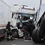 Un camionero fallecido y otro herido grave, tras la colisión de dos camiones en la A21  Brescia