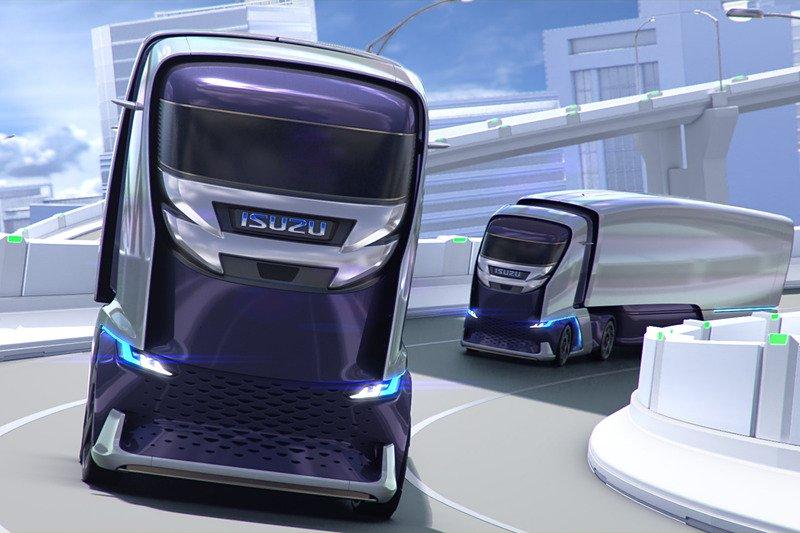 Isuzu presenta su prototipo de camión autónomo antes del Saló de Tokio 2019