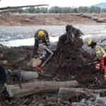 Un camionero desparecido tras en el temporal: encuentran restos del camión en el Francolí