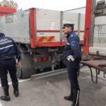 Multado con 2.000 € un camión que ha estado trabajando 18 meses sin seguro