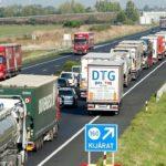 Hungria está multando a conductores de camiones de 2,4 y 3,5 tn por no llevar tacógrafo