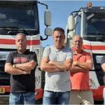 12 Camioneros portugueses declaran la quiebra de su empresa  tras 4 meses sin cobrar