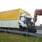 Fallece un camionero de 60 años (edad de jubilación), en la colisión de dos camiones en la A4 Italia