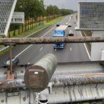 La policía usa cámaras inteligentes contradistracciónen el transporte por carretera en los Países Bajos