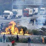 Los camioneros demandan los bloqueos de los CDR con más de 150 millones a la Generalitat y el Gobierno de España