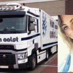"""Claudia 24 años, de esteticista a camionera de transporte internacional """"Viajar en el camión es lo mejor que hay"""""""