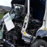 Fallecen dos camioneros en una trágica colisión de dos camiones en la A-14 Italia